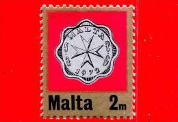 Nuovo - MNH - MALTA - 1972 - Moneta - Croce Maltese - Decimal Currency Coins - 2 M - Malte