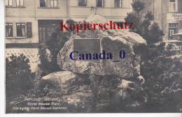 P   6 --- Hettstedt  Südharz,   Horst-wessel-Plöatz Denkmal  276.1935   Nach Udenheim - Hettstedt