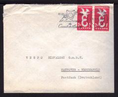 Lettre Pour L´ALLEMAGNE 15.05.1959 - Cartas