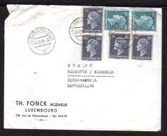 Lettre Pour L´ALLEMAGNE 05.12.1956 - Lettres & Documents