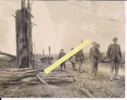 Somme Flandres Flandern Transport De Blésséscanadiens Ou Anglais 1914-1918 1.wk 1ere Guerre 14/18 Ww1 WwI Poilus - Guerre, Militaire