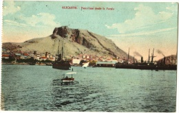Alicante. - Panoráma Desde La Farala - Alicante