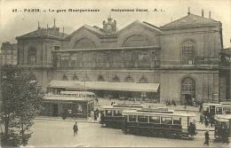 PARIS, Gare Montparnasse, Tramways - Metropolitana, Stazioni