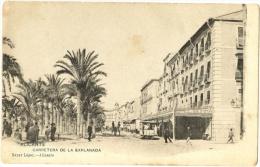 Alicante - Carretera De La Explanada - & Tram - Alicante