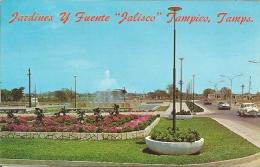 """Jardines Y Fuente """"Jalisco""""  Tampico     Mexico.  S-30 - Mexique"""