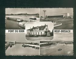CPSML - Neuf Brisach - Hotel Restaurant Au Pont Du Rhin - Multivues Ecluses Peniche Canal Centrale De Vogelgrun - Neuf Brisach