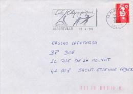 FRANCE  -  ALBERTVILLE  -  Cité Olympique  -  Pattinaggio - Pattinaggio Artistico