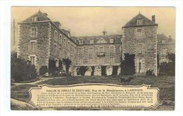 LANNION - COTES D´ARMOR - BRETAGNE - PENSION DE FAMILLE DE CREC'H AVEL - RUE DE LA BIENFAISANCE - Lannion