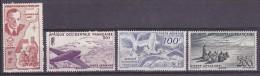 A.O.F. Yvert P.A. N°11 à 14 Neuf X (hinged) - Cote 30 Euros - Prix De Départ 9 Euros - A.O.F. (1934-1959)