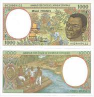 Congo  1000  Francs 2000. UNC  Central African Franc CFA Lettre C - Kongo