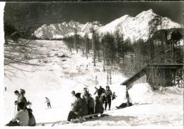 Serre Chevalier, Le Monêtier Les Bains, Les Champs De Ski Au Remonte-pente De Charvet - Serre Chevalier