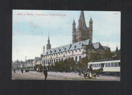 AK Köln Stapelhaus 1913 - Köln