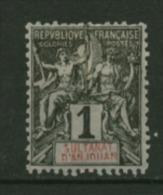 Anjouan  N° 1  Neuf   X    Cote  1,80 Euro Au Quart De Cote - Neufs