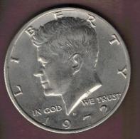 USA HALF 1/2 DOLLAR 1972 D KENNEDY - 1964-…: Kennedy