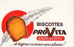 - BUVARD Biscottes PROVITA - 384 - Biscottes