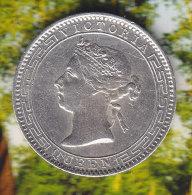 @Y@    Sri Lanka / Ceylon  25 Cents 1893  (2313) - Sri Lanka
