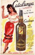 - BUVARD CATALUNYA à L'apéritif - 387 - Liquor & Beer
