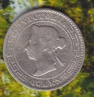 @Y@    Sri Lanka / Ceylon  10  Cents 1892  (2321 ) - Sri Lanka