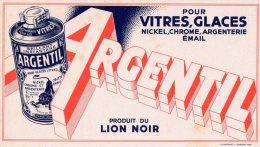 - BUVARD ARGENTIL Pour Vitres - 388 - Produits Ménagers