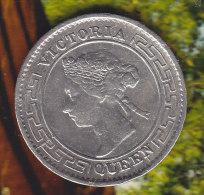 @Y@    Sri Lanka / Ceylon  10  Cents 1894  (2323 ) - Sri Lanka