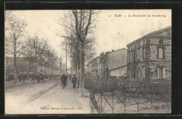 CPA Albi, Le Boulevard De Strasbourg - Albi