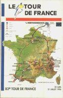 TOUR DE FRANCE  1996    / LOT  989 - Cycling