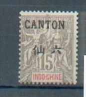 CAN 119 - YT 22 * - Charnière Complète - Neufs