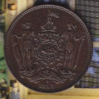 @Y@    Brits North Borneo  1 Cent  One Cent  1887   ( 2365 ) - Malaysie