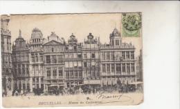 Bruxelles Maison Des Corporations Animée - Monumenten, Gebouwen