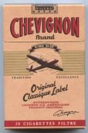 Paquet Cigarettes Chevignon-Paquet Plein, Emballage Clos- Pour Collectionneur - Cigarettes - Accessoires