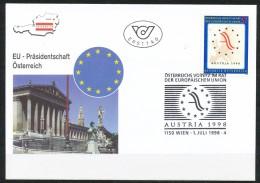 Österreich - FDC -  Mi.Nr.   2261   Vorsitz Österreichs In Der Europäischen Union    1998 - FDC