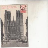 Bruxelles   Eglise Sainte Gudule - Monumenten, Gebouwen