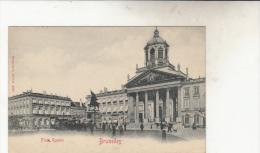 Bruxelles   Place Royale Animée - Marktpleinen, Pleinen