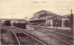 07/CPA - Annonay - La Gare - Annonay