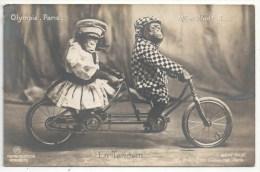 OLYMPIA - Paris - EN TANDEM - Singes - Monkeys - Cabaret