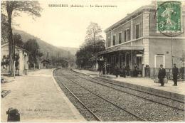 07/CPA A - Serrières - La Gare Intérieure - Serrières