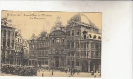 Bruxelles   Grand Place Et Maison Des Brasseurs Très Animée - Marktpleinen, Pleinen