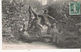 NOS DOUANIERS A LA FRONTIERE  UNE ATTAQUE EMOUVANTE  1909 - Douane