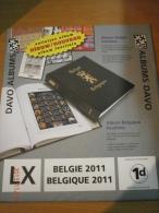 SUPPLEMENT DAVO BELGIQUE 2011 LX 1d . - Album & Raccoglitori