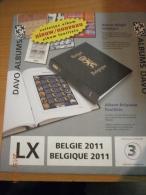 SUPPLEMENT DAVO BELGIQUE 2011 LX 3 . - Album & Raccoglitori