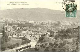 07/CPA - Privas - Vue Panoramique - Privas