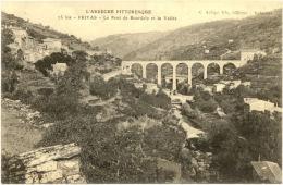 07/CPA - Privas - Le Pont De Bourdely Et La Vallée - Privas