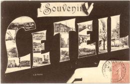 07/CPA - Le Teil - Souvenir - Le Teil