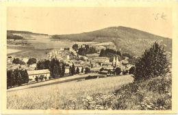 07/CPA - La Louvesc - Vue Générale Et Calvaire Du Mont Chair - La Louvesc