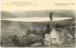 07/CPA - Le Lac D'Issarlès - Vue Sur Les Bords Du Lac - France