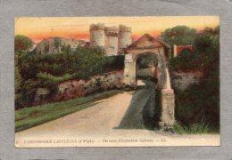 43669     Regno  Unito,    Carisbrooke  Castle (Isle  Of  Wight)  -  The  Outer  Elizabethian  Gateway,  VG  1909 - Inghilterra