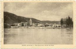 07/CPA - Glun - Vue Prise De La Roche De Glun - France
