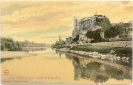 07/CPA - Chateau De Chateaubourg (color) - France