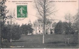 476 - BREAL-SOUS-MONTFORT  (Ille-et-Vilaine) - Château Et Parc De La Haute Forest CPA écrite  E. Mary-Rousselière - France