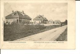 AMBTENAARSWONINGEN     GRENSSTATION  BAARLE - NASSAU - WEELDE (  ECRITE 1908 ) - Baarle-Hertog